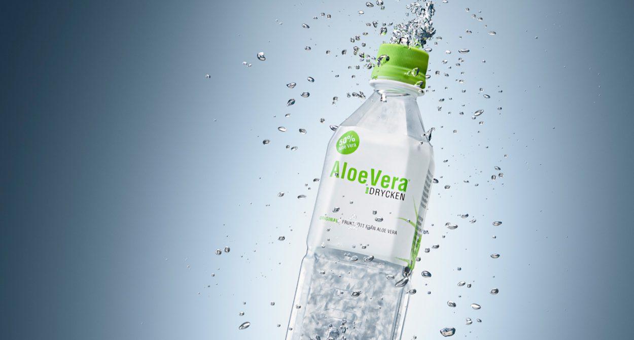 Ny hemsida åt Aloe Vera-drycken!